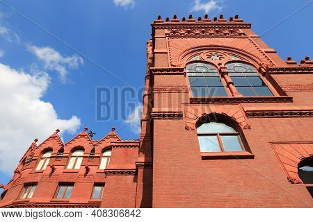 Philadelphia Usa - University Of Pennsylvania (upenn). Fisher Fine Arts Library Building.