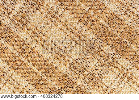 Cloth.checkered Fabric.fabric Texture For Background And Decoration Of Artwork.a Crumpled Piece Of C