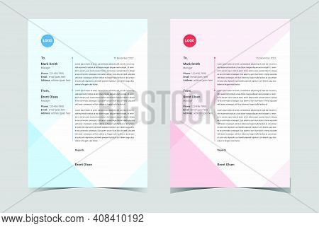 Modern Letterhead. Professional Letterhead Template. Modern Creative. Letterhead.corporate Letterhea
