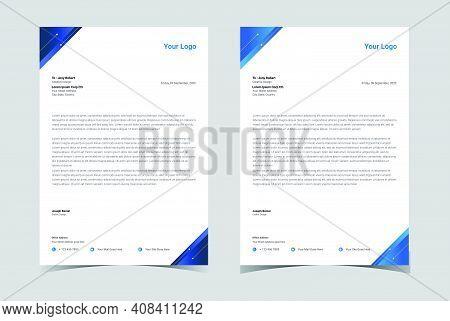 Professional Letterhead Template. Modern Creative. Letterhead.corporate Letterhead.
