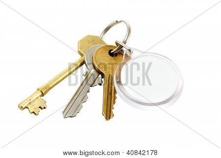 House Keys Blank Tab