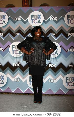 PASADENA, CA - JAN 8:  Alex Newell attends the FOX TV 2013 TCA Winter Press Tour at Langham Huntington Hotel on January 8, 2013 in Pasadena, CA