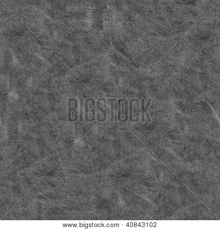 Displacement Map for Black Leather Texture