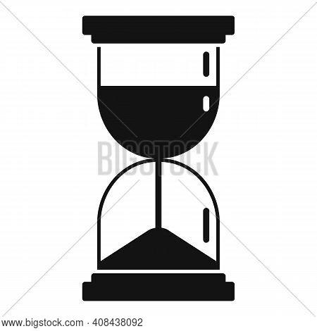 Prosecutor Hourglass Icon. Simple Illustration Of Prosecutor Hourglass Vector Icon For Web Design Is