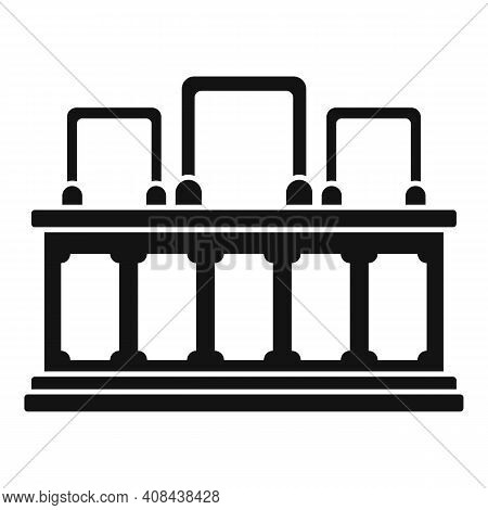 Prosecutor Tribune Icon. Simple Illustration Of Prosecutor Tribune Vector Icon For Web Design Isolat