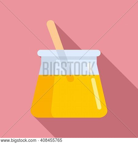 Wax Pot Stick Icon. Flat Illustration Of Wax Pot Stick Vector Icon For Web Design