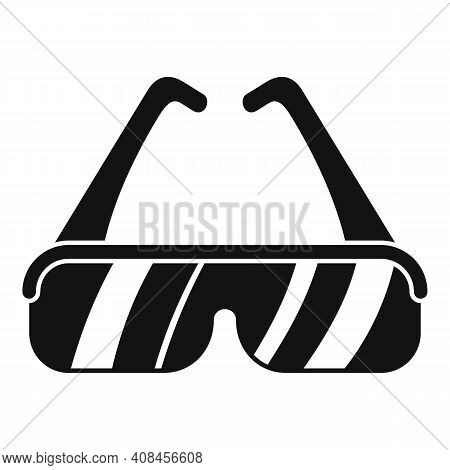Laser Hair Removal Protect Glasses Icon. Simple Illustration Of Laser Hair Removal Protect Glasses V