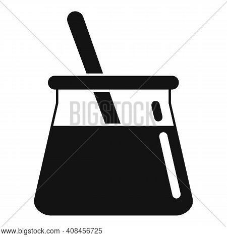 Wax Pot Stick Icon. Simple Illustration Of Wax Pot Stick Vector Icon For Web Design Isolated On Whit