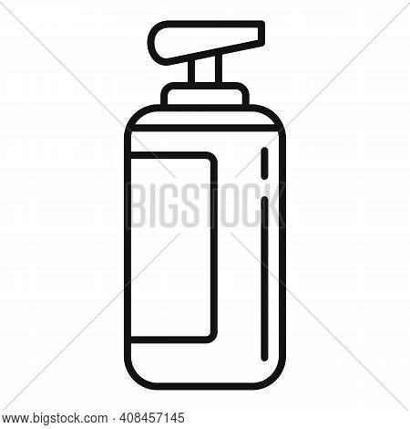 Cream Dispenser Icon. Outline Cream Dispenser Vector Icon For Web Design Isolated On White Backgroun