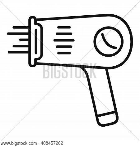Laser Hair Removal Pistol Icon. Outline Laser Hair Removal Pistol Vector Icon For Web Design Isolate