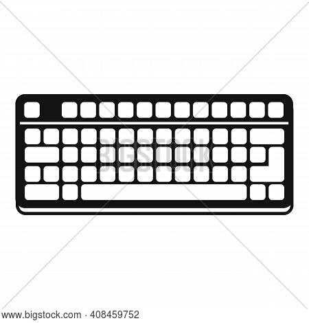 Workplace Keyboard Icon. Simple Illustration Of Workplace Keyboard Vector Icon For Web Design Isolat