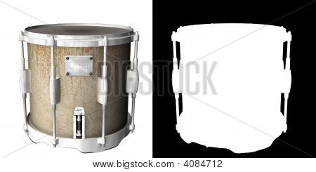 Drum With Separated Alpha
