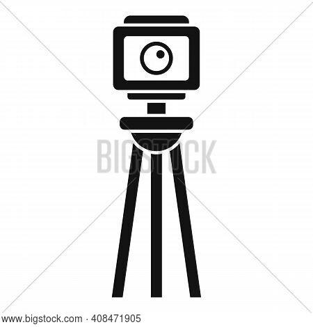 Tv Retro Camera Icon. Simple Illustration Of Tv Retro Camera Vector Icon For Web Design Isolated On