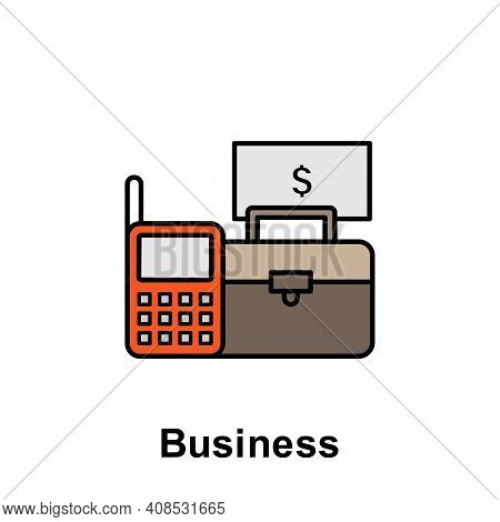 Business Outline Icon. Element Of Labor Day Illustration Icon. Signs And Symbols Can Be Used For Web