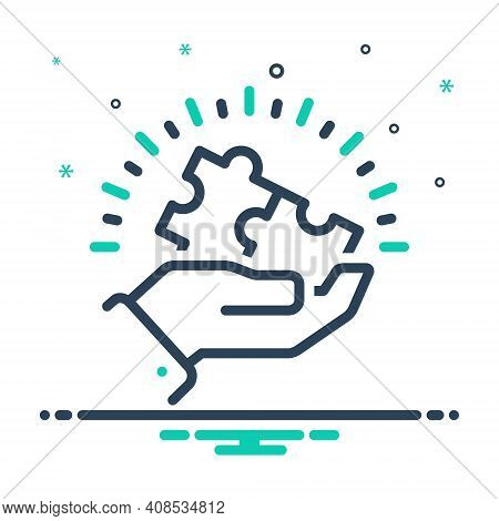 Mix Icon For Appropriations Combination Puzzle Input Appropriate Different Compatible