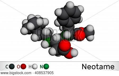 Neotame, Sweetening Agent, E961molecule. It Is Dipeptide With Peptide Linkage, Artificial Sweetener,