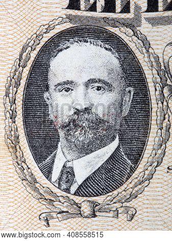 Francisco Ignacio Madero A Portrait From Old Mexican Money