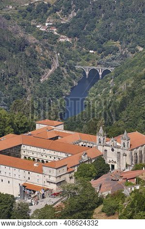 Ribeira Sacra. Santo Estevo Monastery And Sil River. Ourense, Galicia. Spain