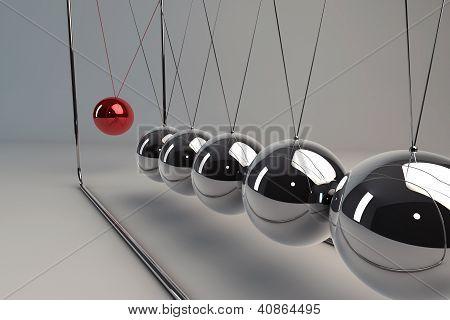 Chrome Pendulum