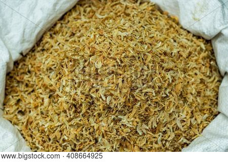 Dry Prawn That Is A Common Name For Small Aquatic Crustaceans With An Exoskeleton And Ten Legs, The