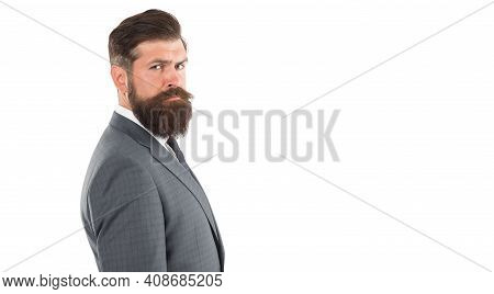 Business Reputation. Formal Fashion. Handsome Businessman. Agility Made Possible. Businessman Formal