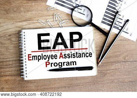 Employee Assistance Program Business Text Concept. Eap