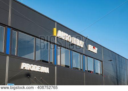 Ostrava, Czech Republic - December 27, 2020: The Retail Shop (prodejna In Czech) Of Auto Kelly And E