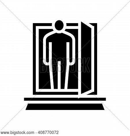Businessman Expert Glyph Icon Vector. Businessman Expert Sign. Isolated Contour Symbol Black Illustr