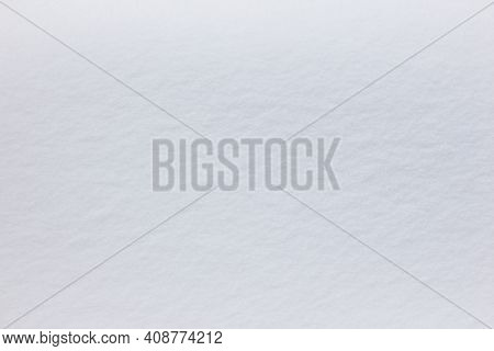 White Background Snow Texture, Snowy Frosty Winter, Copy Space For Text