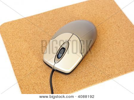 Computer Mouse And Mousepad