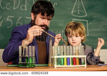 Achieving Developmental Milestones Way Before Predicted Sign That Child Ready To Be Challenged. Chem