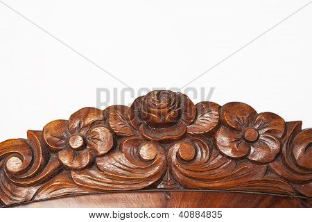 Carved Wooden Detail