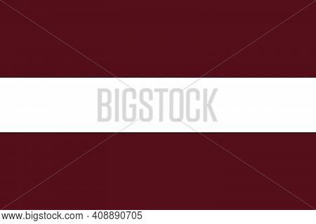 The National Flag Of The Country Is Latvia. Latvian Flag. Latvian State Symbol. Labor Day. Independe