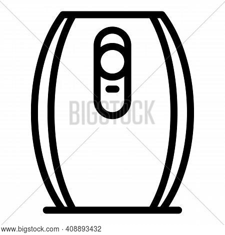 Automatic Air Freshener Icon. Outline Automatic Air Freshener Vector Icon For Web Design Isolated On