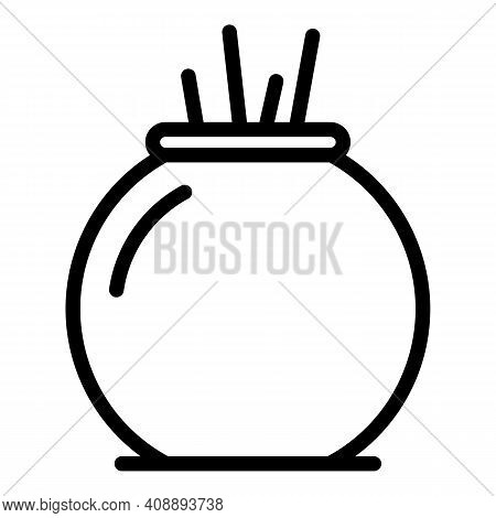Room Air Freshener Icon. Outline Room Air Freshener Vector Icon For Web Design Isolated On White Bac