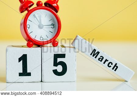 15 Fifteenth Day Of Spring Month Calendar March.