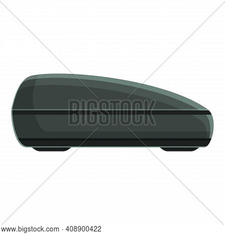Car Roof Trip Box Icon. Cartoon Of Car Roof Trip Box Vector Icon For Web Design Isolated On White Ba