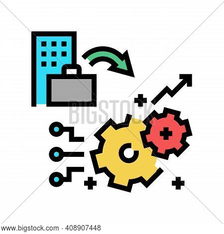Experience Benefits Color Icon Vector. Experience Benefits Sign. Isolated Symbol Illustration