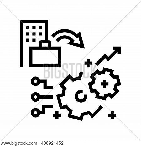 Experience Benefits Line Icon Vector. Experience Benefits Sign. Isolated Contour Symbol Black Illust