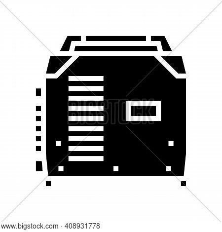 Inverter Welding Glyph Icon Vector. Inverter Welding Sign. Isolated Contour Symbol Black Illustratio