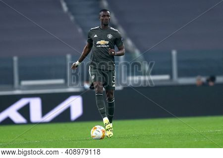 Torino, Italy. 18th February 2021. Eric Bailly Of Manchester United Fc  During  Uefa Europa League