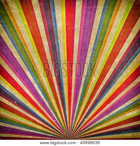 Multicolor Sunbeams Grudge Background