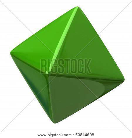 Green octahedron