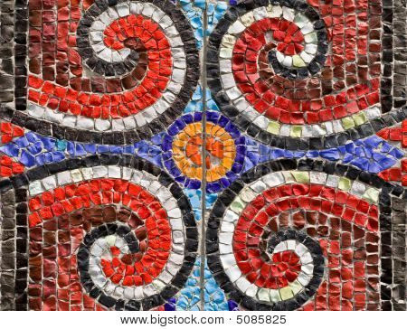 Pattern From A Mosaic