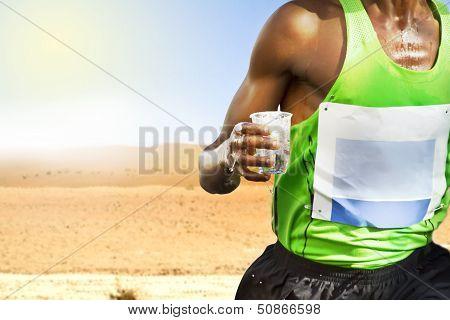 Thirsty Runner Desert