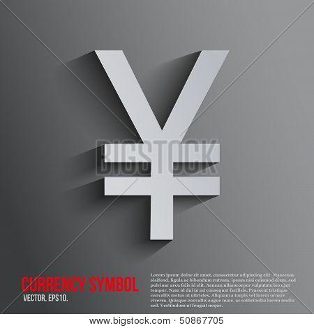 background ?urrency symbol yen