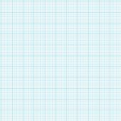 blue grid graph paper with various size lines poster