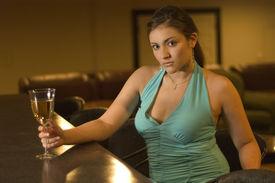 sexy junge Frau