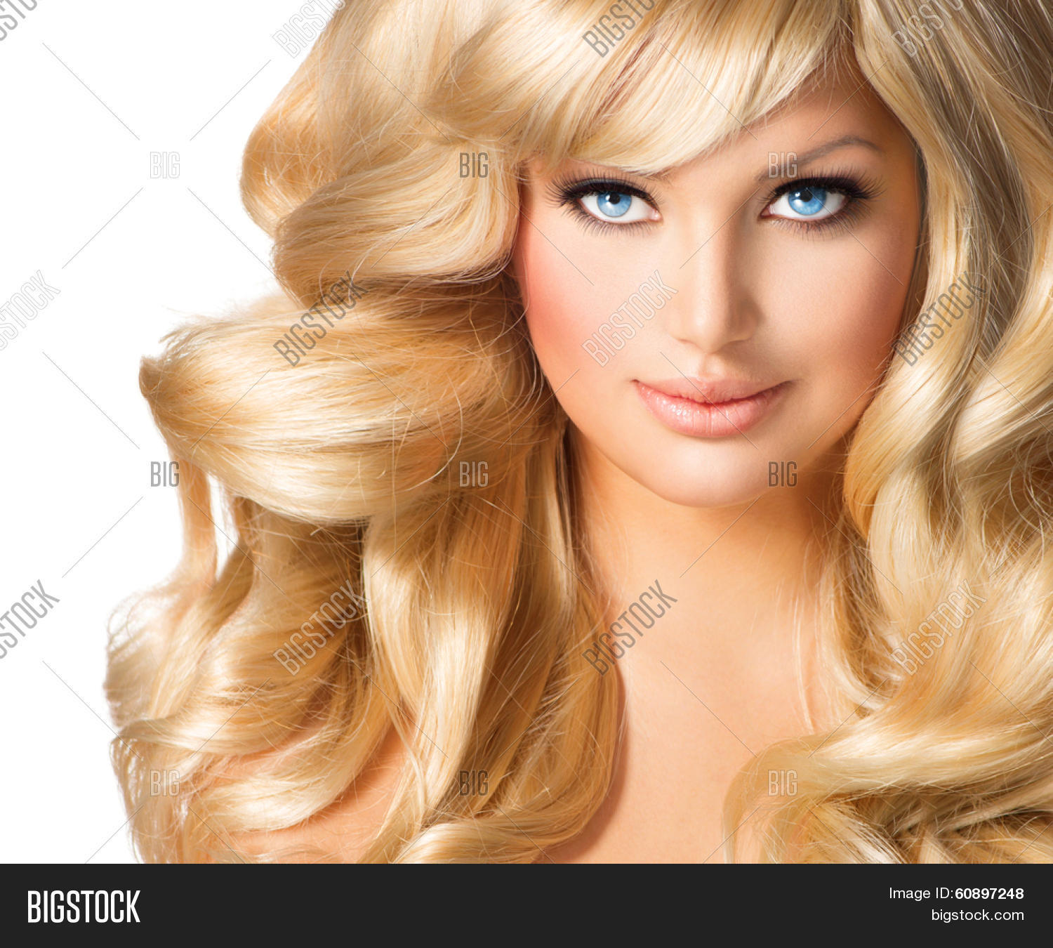 Beauty Blonde Woman Image Photo Free Trial Bigstock