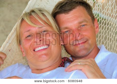 Couple on hammock